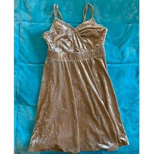 Xhilaration Crushed Velvet Mini Dress